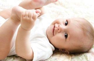 piel de un bebe